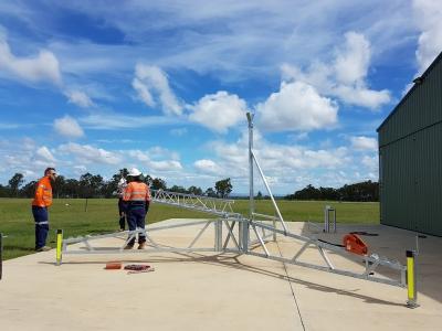 AL340 Aluminium Tripod Tower setup, part-4