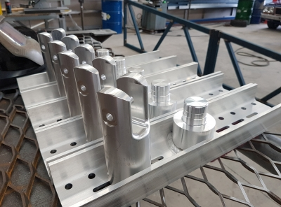 Structural Aluminium Machining - 50 tonne AL220 tower base