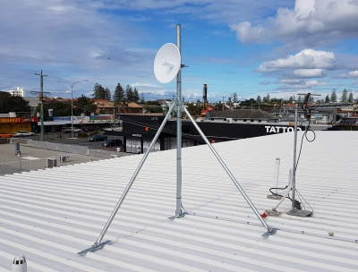 Heavy Duty Tin Roof Mount Pole