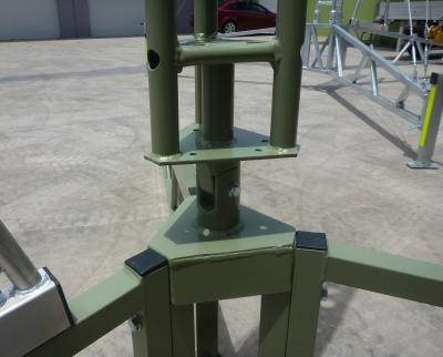 AL220 4 metre tripod base in olive drab