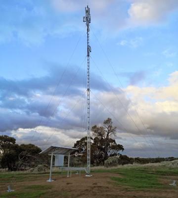 AL220 aluminium lattice tower, 12 m