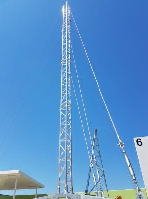 AL500 Tripod Lattice Tower 14m