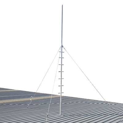 GPP48 Pegged roof mast for climbing