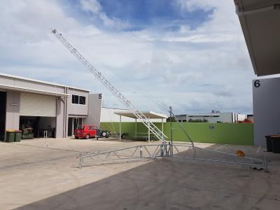 aluminium lattice tower 30m communications, antennas, portable