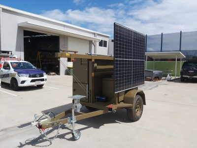 communications trailer, coms, relay trailer, accepter,