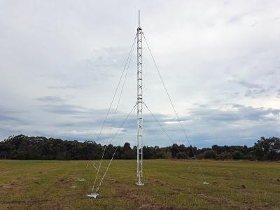 AL220 ground mounted aluminium lattice tower