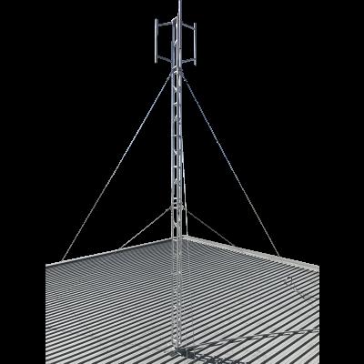 six metre aluminium roof tower