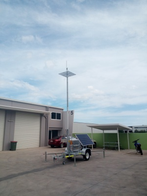 cel-fi go, relay trailer, solar, communications