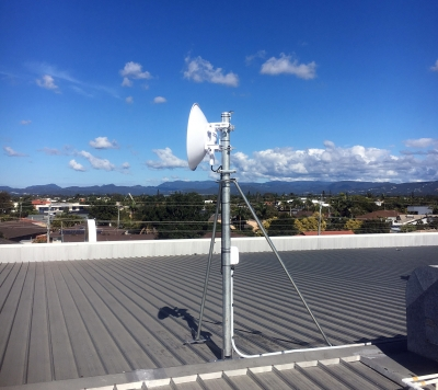 Heavy Duty Roof Mount for Antennas