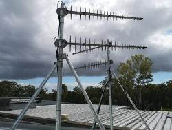 GC48c , Collared Roof Mast, qld, cliplok roof, strammit