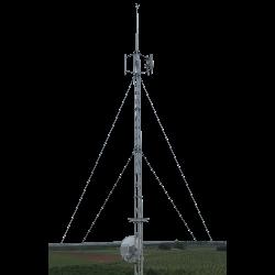 nine metre aluminium roof tower
