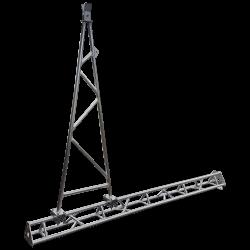 AL220 Gin Pole Assembly for lifting aluminium lattice towers