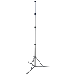folding tripod with telescopic mast