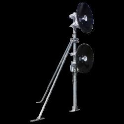 heavy duty galvanised microwave antenna mast