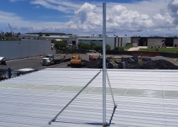 60mm roof mast, telecommunications, antennas, PTP,