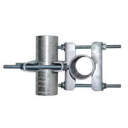 Cross-over horizontal clamp bracket