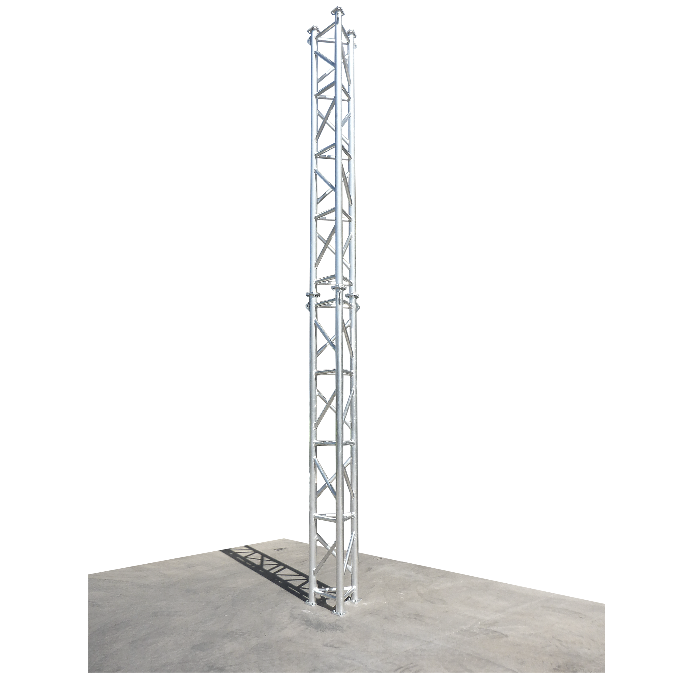 Free Standing Trellis: Self-Supporting Towers